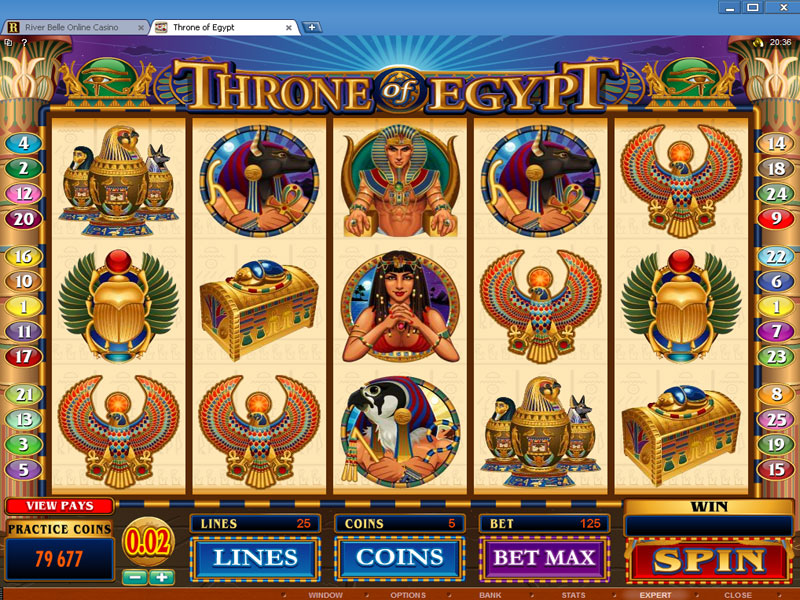 crown of egypt spielen