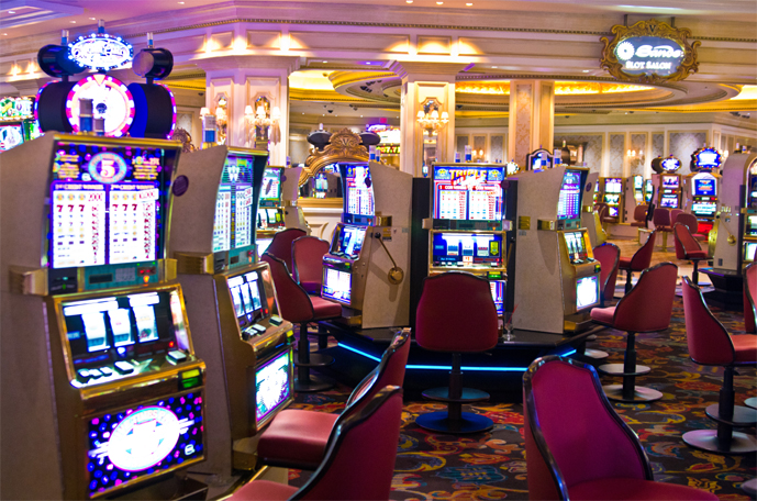 Which casino in vegas has the most slot machines casino pachanga travel